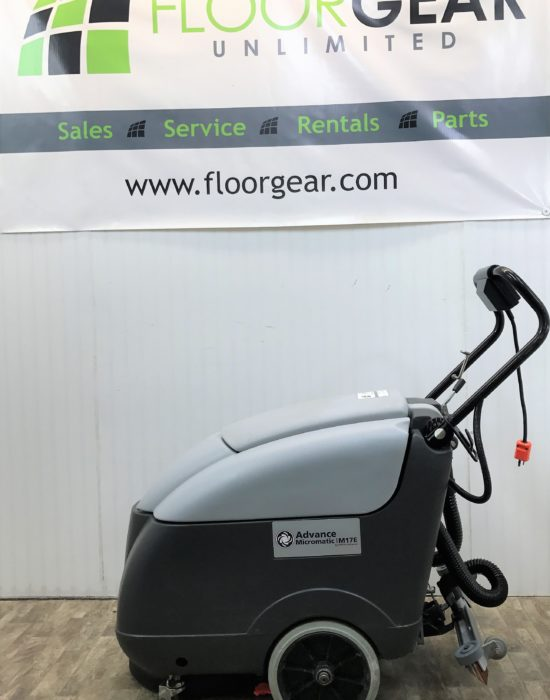 Reconditioned advance micromatic m17e 17 corded floor for 17 floor scrubber