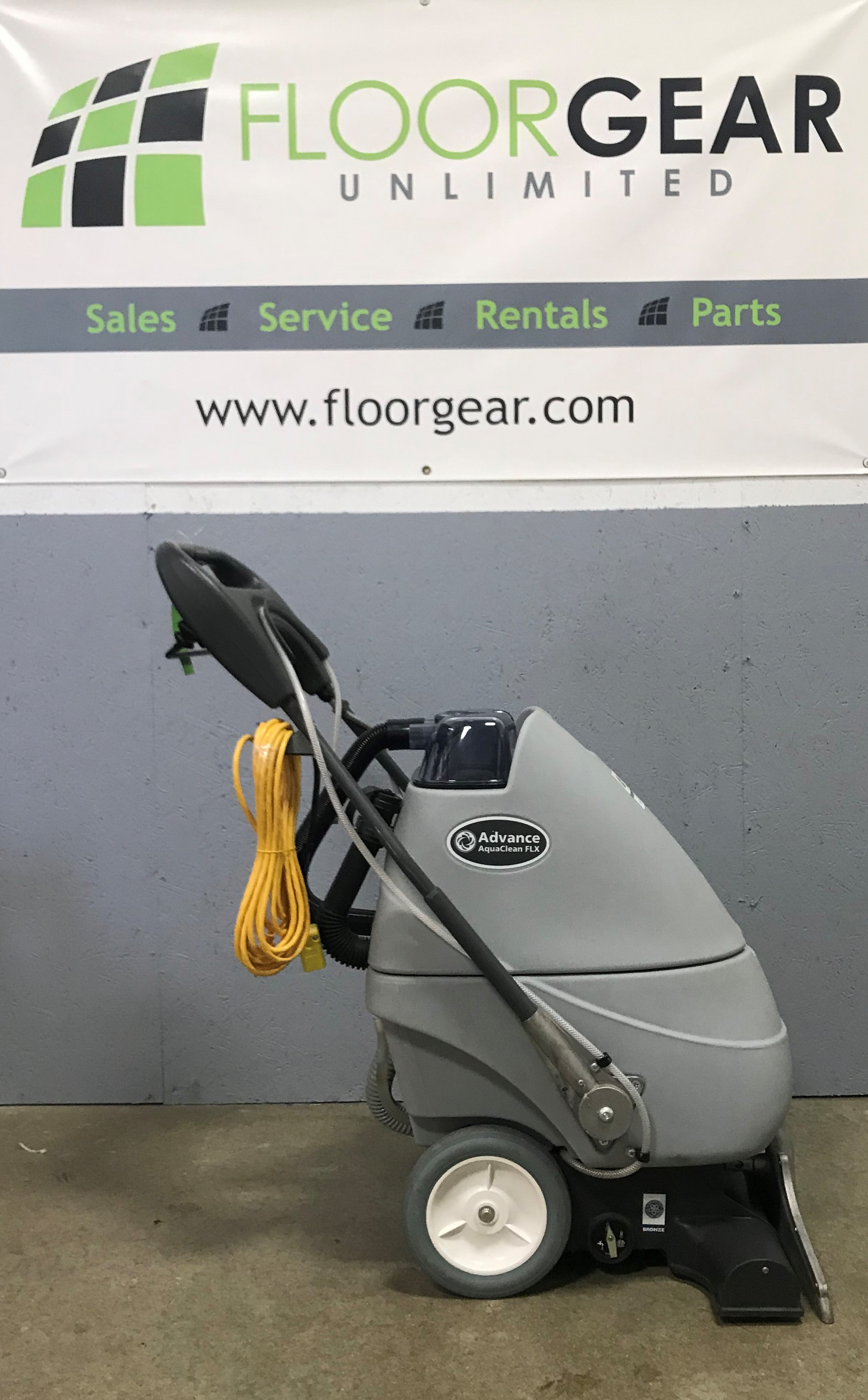 Reconditioned Advance Aquaclean 18flx Extractor